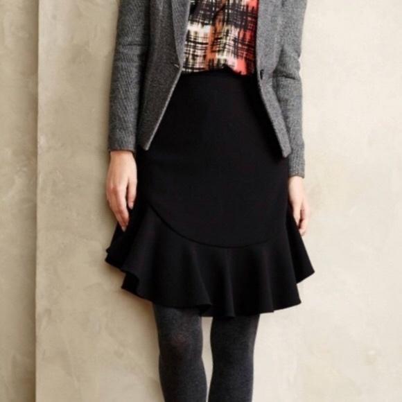 Anthropologie Dresses & Skirts - Anthropologie Faray Flounce Skirt by Leifsdottir